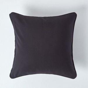 coussin 60x60 noir achat vente coussin 60x60 noir pas cher cdiscount. Black Bedroom Furniture Sets. Home Design Ideas
