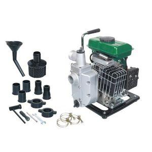 Motopompe thermique 98CC moteur 4 temps 7000 litres / heure