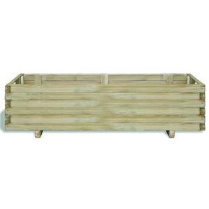 jardiniere sur pied en bois achat vente jardiniere sur pied en bois pas cher cdiscount. Black Bedroom Furniture Sets. Home Design Ideas
