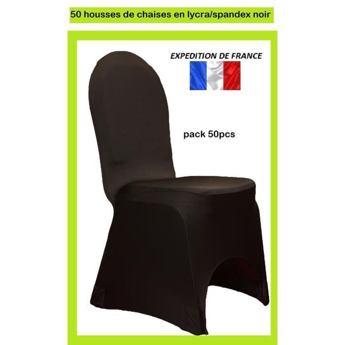 X50 housses de chaise noir en lycra spandex achat vente housse de chaise - Housse de chaise noire ...