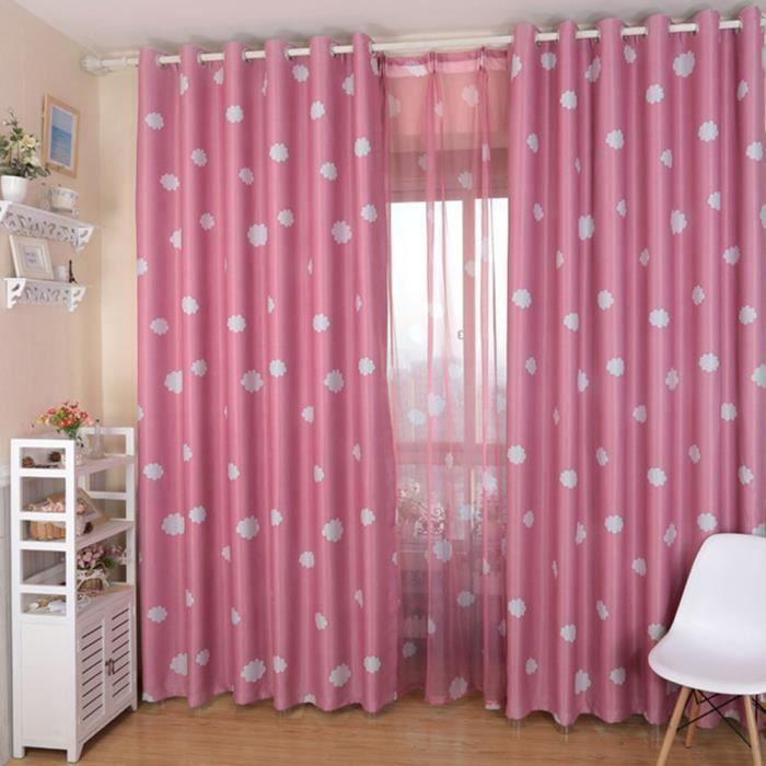 Rideau de nuages fen tre drap chic d coration rideaux for Decoration maison rideaux fenetre