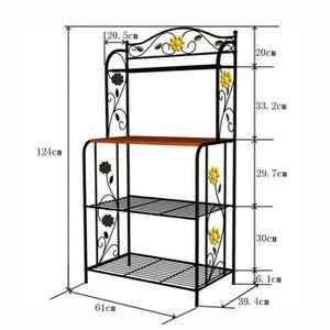 Meuble micro ondes achat vente meuble micro ondes pas for Etagere interieur meuble cuisine