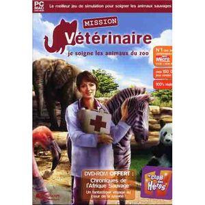 mission veterinaire je soigne les animaux du zoo achat vente jeu pc mission veterinaire je. Black Bedroom Furniture Sets. Home Design Ideas