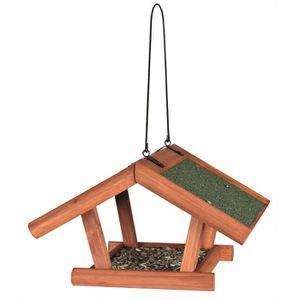 TRIXIE Natura mangeoire suspendue - 30x18x28 cm - Brun - Pour oiseaux
