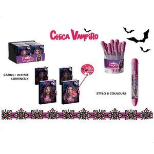 stylo 6 couleurs chica vampiro