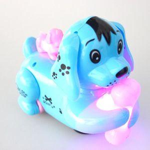 jouet lectronique enfants chien robot intelligent avec la lumi re de la musique de marche pour. Black Bedroom Furniture Sets. Home Design Ideas
