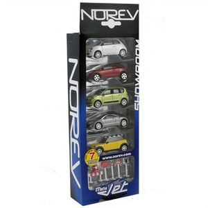 VOITURE - CAMION NOREV Pack 5 Pcs Showroom