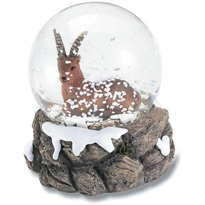 boule de neige figurine statuette bouquetin achat vente statue statuette r sine cdiscount. Black Bedroom Furniture Sets. Home Design Ideas