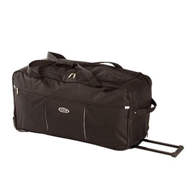 sac de voyage a roulettes noir 68 cm noir achat vente sac de voyage 3700254434688 cdiscount. Black Bedroom Furniture Sets. Home Design Ideas