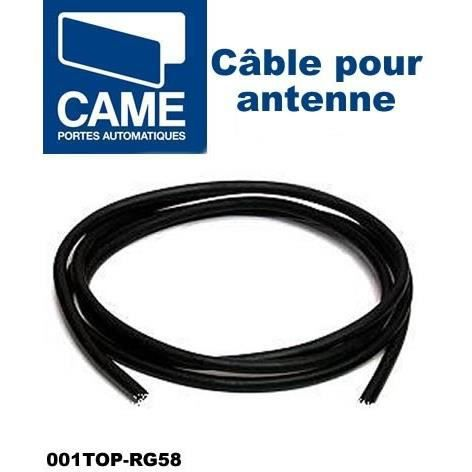 C ble pour branchement antenne came top rg58 achat - Branchement cable antenne tv ...
