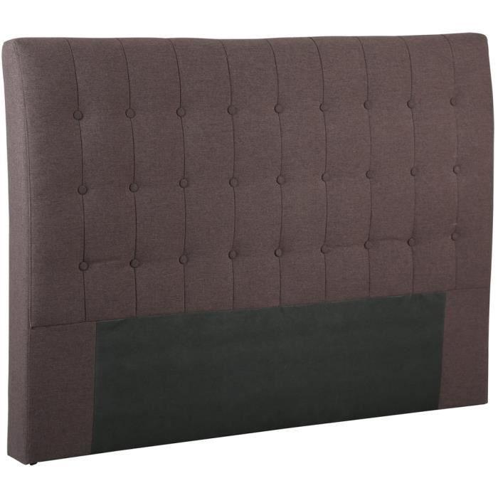 t te de lit en pin avec largeur de 1400 mm couleur prune dim ht 130 x l 1480 x l 80 mm. Black Bedroom Furniture Sets. Home Design Ideas