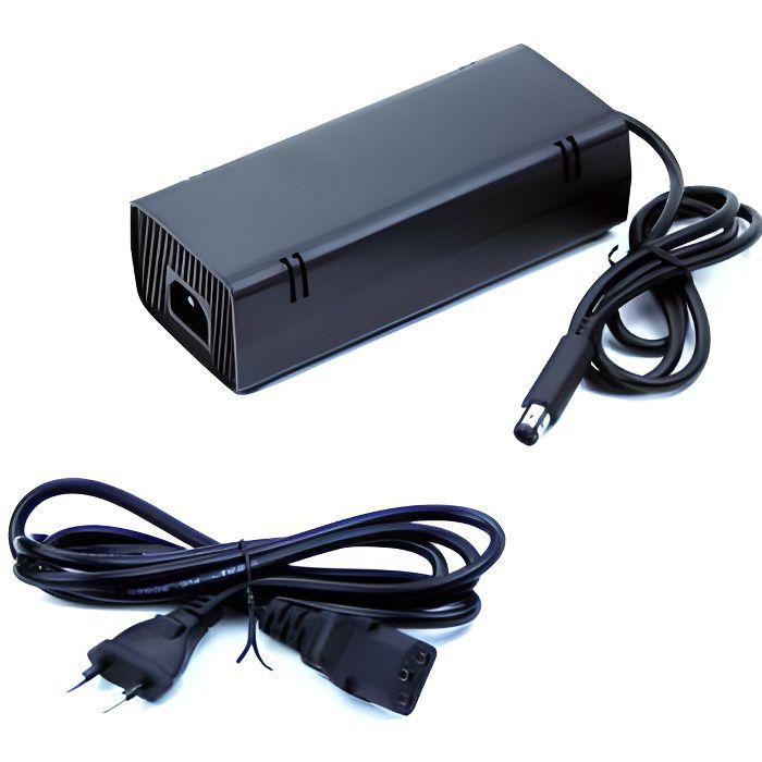 alimentation pour microsoft xbox 360 e achat vente chargeur console alimentation pour. Black Bedroom Furniture Sets. Home Design Ideas