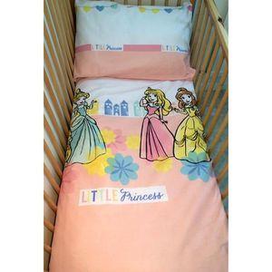 parure princesse disney achat vente parure princesse disney pas cher cdiscount. Black Bedroom Furniture Sets. Home Design Ideas