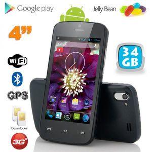 Smartphone Android 4 pouces téléphone débloqué …