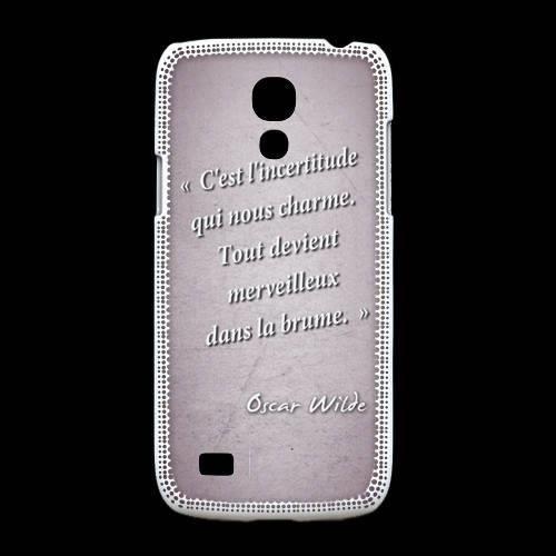 Samsung Galasy S4mini, cette Coque Samsung Galaxy S4mini Incertitude