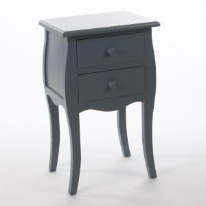 Table de nuit bartok couleur gris achat vente for Table de chevet couleur taupe