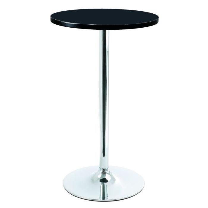 Table de bar bubble noir achat vente bar mange for Table de bar noir