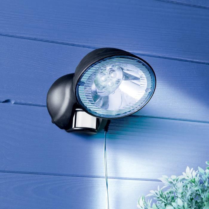 spot solaire d tecteur de mouvement achat vente d tecteur de mouvement cdiscount. Black Bedroom Furniture Sets. Home Design Ideas