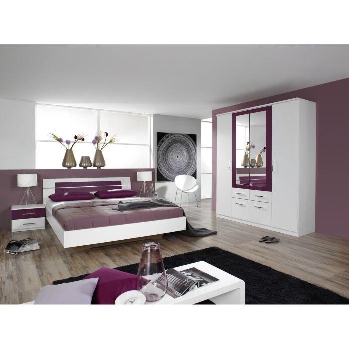 chambre adulte compl te venise ii avec tiroir lit achat