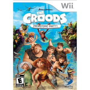 JEUX WII THE CROODS / Jeu console Wii