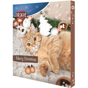 TRIXIE Calendrier de l'Avent - Marron - Pour chat