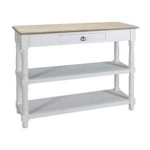consoles avec tiroirs et etageres achat vente consoles. Black Bedroom Furniture Sets. Home Design Ideas