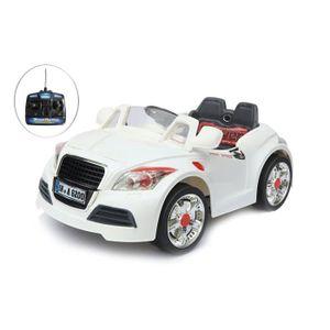 VOITURE ENFANT Voiture électrique 6V avec télécomande BMW blanche