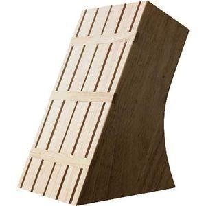 Bloc couteaux bois achat vente bloc couteaux bois pas cher les soldes sur cdiscount - Bloc en bois pour couteau ...