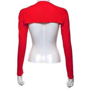 bolero rouge femme achat vente bolero rouge femme pas cher soldes d t cdiscount. Black Bedroom Furniture Sets. Home Design Ideas