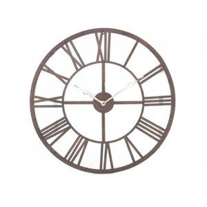 horloge chiffre romain achat vente horloge chiffre. Black Bedroom Furniture Sets. Home Design Ideas