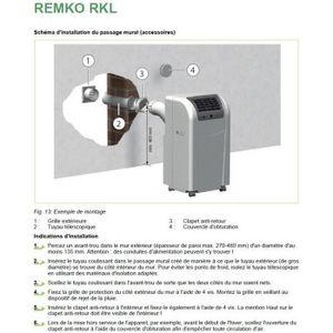 Kit fenetre pour climatiseur mobile achat vente kit for Accessoire climatiseur mobile fenetre
