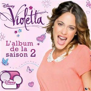 CD MUSIQUE CLASSIQUE Album de la saison 2 by Violetta