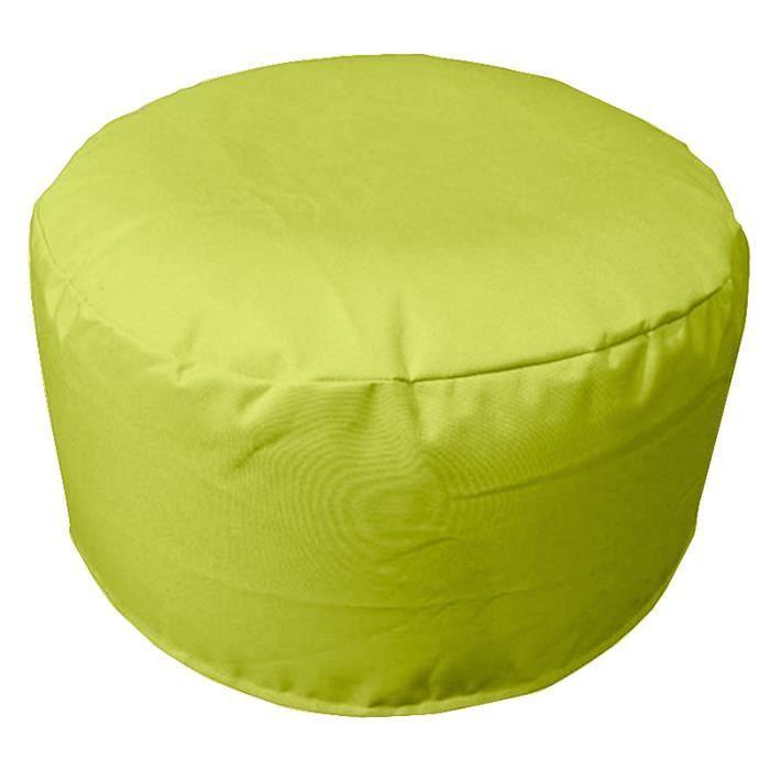 Pouf gonflable diam 55cm sp cial ext rieur vert anti - Pouf gonflable exterieur ...