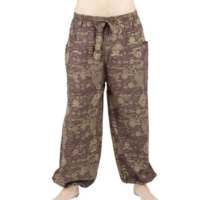 Pantalon ethnique tihzir couleurs du monde ethnique v tement baba cool festi - Vetement ethnique discount ...