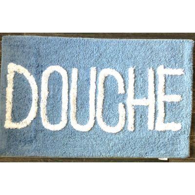 tapis salle de bain douche bleu ciel achat vente tapis. Black Bedroom Furniture Sets. Home Design Ideas