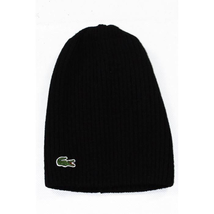 bonnet lacoste homme rb3504 031 noir noir achat vente bonnet cagoule 3608079413690 cdiscount. Black Bedroom Furniture Sets. Home Design Ideas