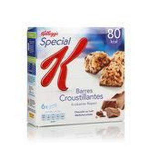 BARRES CÉRÉALES Kellogg's Spécial k barres de céréales au chocolat