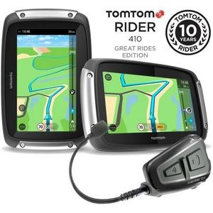 CASQUE MOTO SCOOTER Gps moto TOM TOM RIDER 410 Great Rides EDITION + I