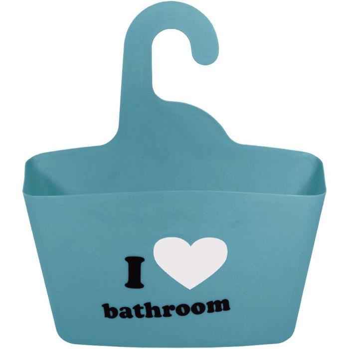 panier rangement salle de bain suspendre love achat vente porte accessoire cdiscount. Black Bedroom Furniture Sets. Home Design Ideas