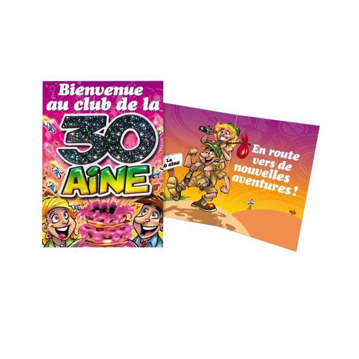 carte anniversaire 30 ans achat vente carte carte de visite carte anniversaire 30 ans. Black Bedroom Furniture Sets. Home Design Ideas