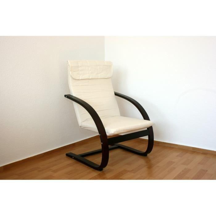 fauteuil de d tente avec le repose pied offert achat vente fauteuil cdiscount. Black Bedroom Furniture Sets. Home Design Ideas