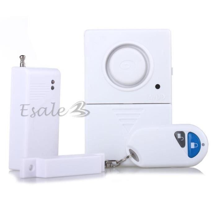 Detecteur magn tique sans fil porte fen tre pro achat - Alarme fenetre sans fil ...