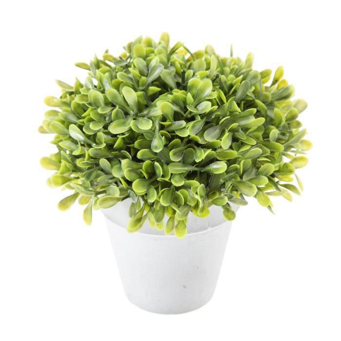 petit pot de buis artificiel 15cm achat vente fleur artificielle cdiscount. Black Bedroom Furniture Sets. Home Design Ideas