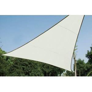 voile solaire triangulaire 5 x 5 x 5m achat vente tonnelle barnum voile solaire. Black Bedroom Furniture Sets. Home Design Ideas