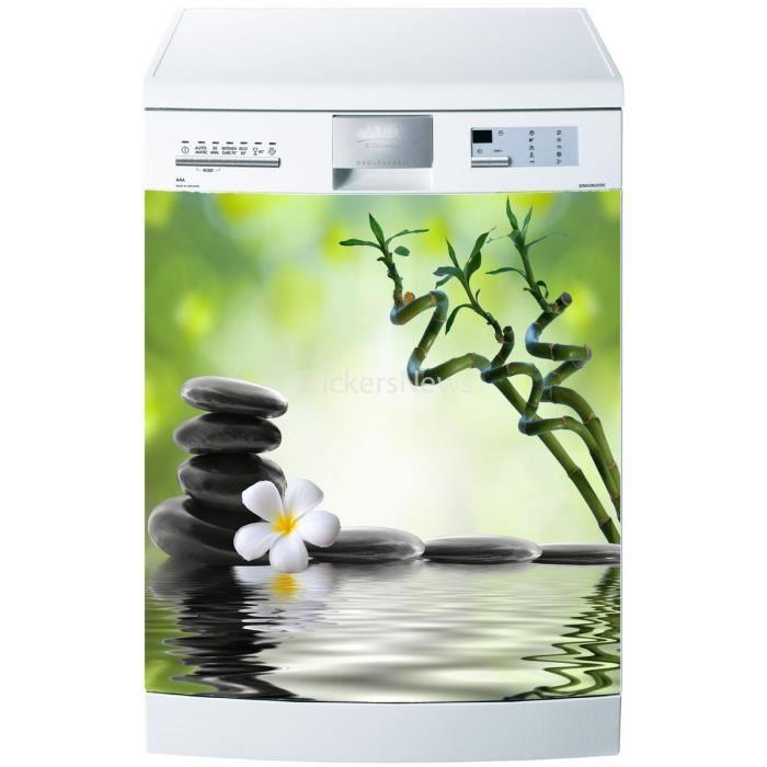 Stickers lave vaisselle ou magnet zen spa 5520 achat for Sticker pour lave vaisselle