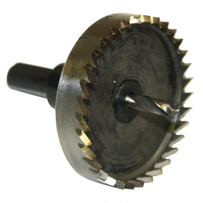 Scie trepan hss cloche pour metaux 54mm achat vente scie hss cdiscount - Scie cloche 150 mm ...