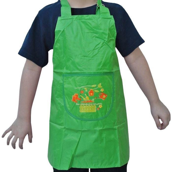 Tablier enfant pvc jardinier en herbe cuisine pein achat for Conseil de jardinier