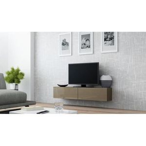 Meuble tv taupe achat vente meuble tv taupe pas cher cdiscount - Meuble tv taupe design ...
