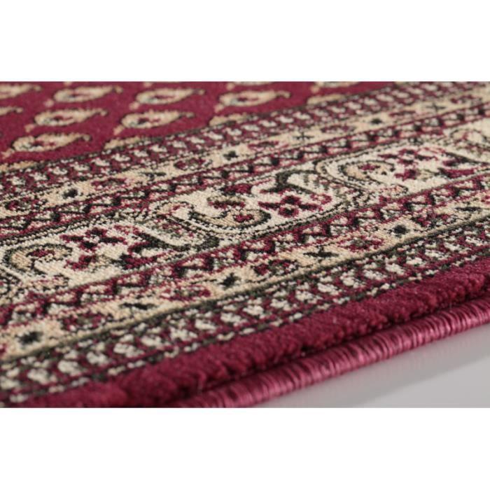 tapis orientale marrakesh 0205 rouge 160 x 230 cm achat vente tapis cdiscount. Black Bedroom Furniture Sets. Home Design Ideas