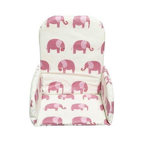 Jollein coussin r ducteur universel elephant rose achat - Coussin reducteur chaise haute ...